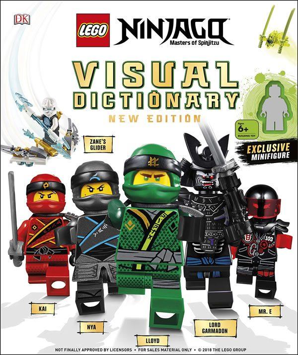 Nouveau Livre Lego Le Visual Dictionary Ninjago Mis A