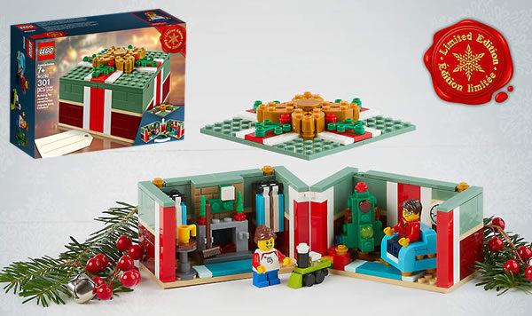 Sur le Shop LEGO : Set 40292 Christmas Gift offert dès 85 € d'achat