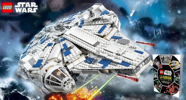 Calendrier de l'Avent #13 : Un set et un livre LEGO Star Wars à gagner