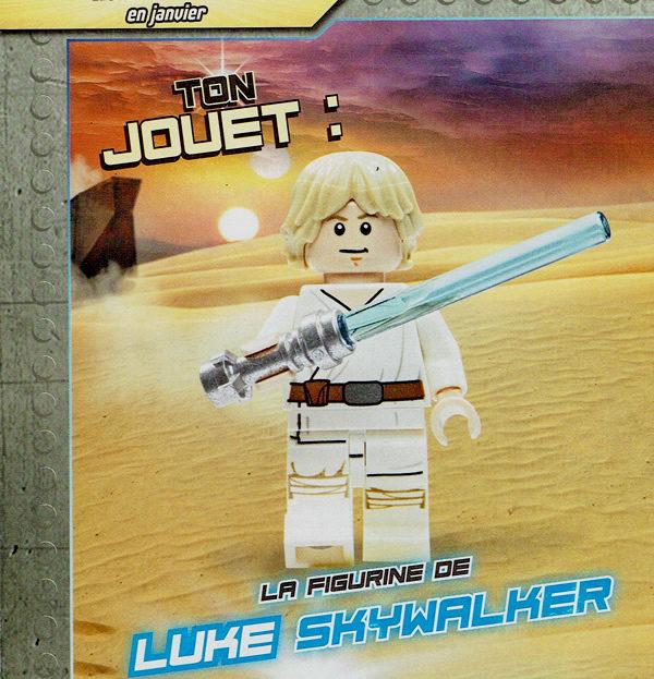 Magazine LEGO Star Wars N°5 : Luke Skywalker