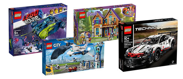 Sur le Shop LEGO : Nouveautés The LEGO Movie 2, Technic, CITY et Friends déjà disponibles