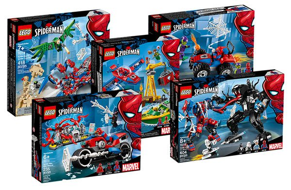 Sur le Shop LEGO : les nouveaux sets Spider-Man sont disponibles