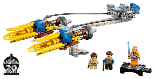 75258 Anakin's Podracer – 20th Anniversary Edition