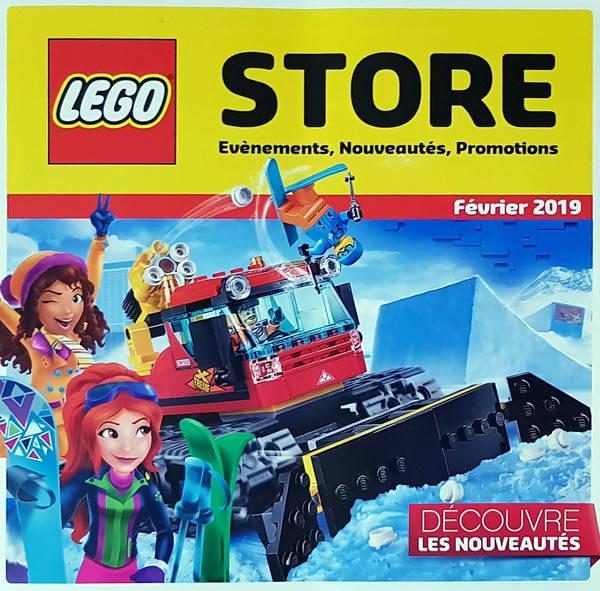 LEGO Certified Store de Dijon : les offres prévues pour le mois de février 2019