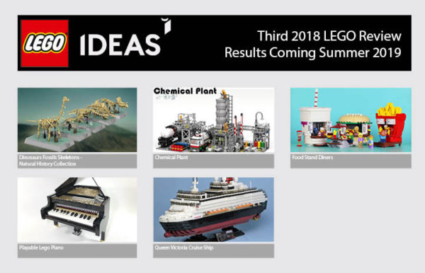 lego ideas review 2019 qualified projects