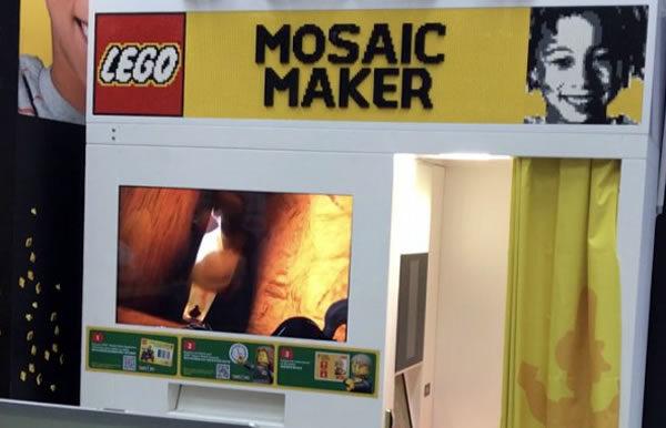 LEGO Mosaic Maker : Le concept est maintenant disponible au LEGO Store des Halles