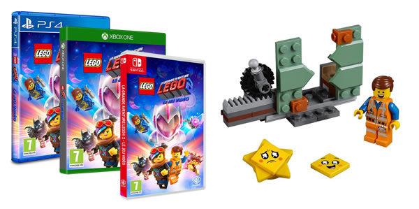 Chez Micromania : le polybag The LEGO Movie 2 30620 Star-Stuck Emmet offert avec le jeu vidéo