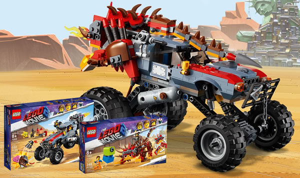The LEGO Movie 2 : UltraKattyMobile