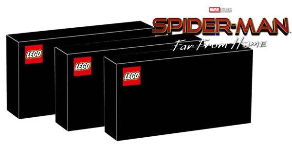 Spider-Man : Far From Home - Premier trailer et quelques infos sur les sets LEGO prévus