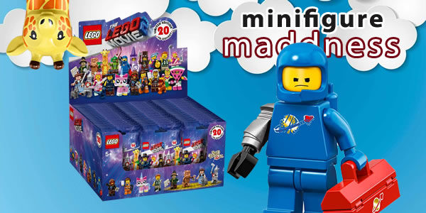 Chez Minifigure Maddness : La boite de 60 sachets de minifigs The LEGO Movie 2 en précommande