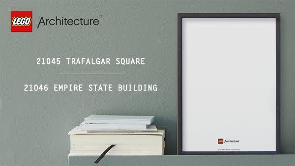 Nouveautés LEGO Architecture 2019 : 21045 Trafalgar Square et 21046 Empire State Building