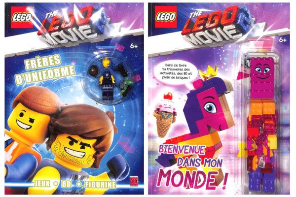 En kiosque : Deux livres d'activités The LEGO Movie 2 avec des briques