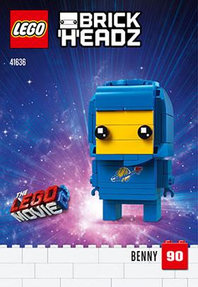 41636 benny brickheadz lego movie 2019