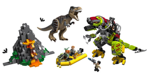 75938 T. rex vs Dino-Mech Battle