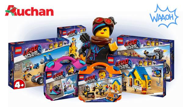 Carte Lego Auchan Livre.Chez Auchan 25 D Economies Sur Les Produits The Lego Movie 2