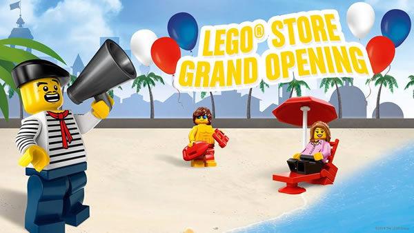 Le nouveau LEGO Store de Nice ouvrira ses portes le 14 mars 2019