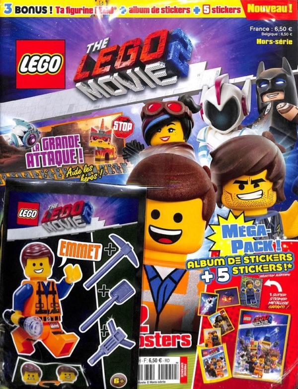 The LEGO Movie 2 : des produits dérivés aussi Chez McDonald's et en kiosque