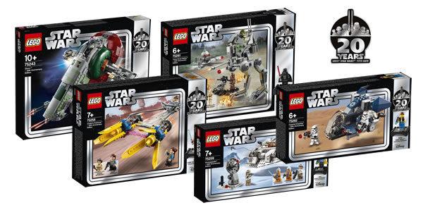 20ème Anniversaire de la gamme LEGO Star Wars : encore des visuels