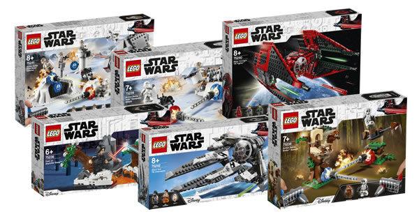 Nouveautés LEGO Star Wars 2019 : encore des visuels officiels