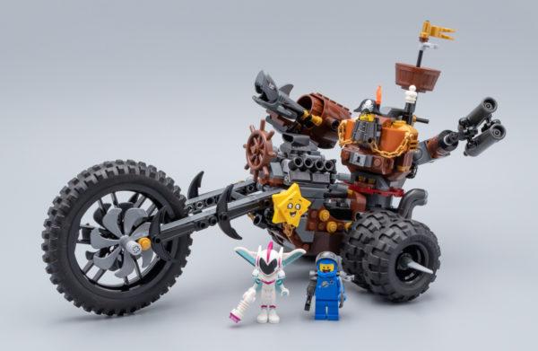 70834 MetalBeard's Heavy Metal Motor Trike !
