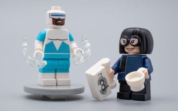 24 Socles noir pour figurine Lego Format Officiel Minifigures