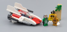 Très vite testé : LEGO Star Wars 75247 A-Wing Starfighter