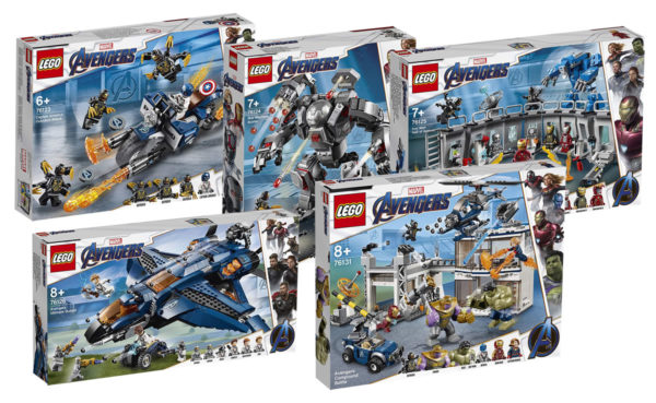 Nouveautés LEGO Marvel Avengers Endgame 2019 : tous les visuels officiels sont disponibles