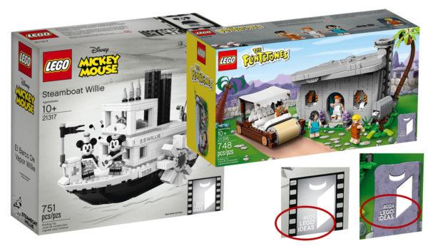 La boulette LEGO du jour : Les sets LEGO Ideas 21316 et 21317 portent la même référence