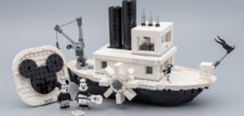 Vite testé : LEGO Ideas 21317 Steamboat Willie