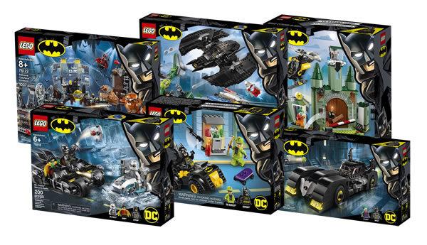 En août 2019 : Six nouveaux sets LEGO Batman pour les 80 ans du justicier de Gotham City