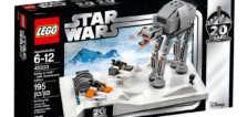 May the 4th : gros plan sur le set LEGO Star Wars 40333 Battle of Hoth (20th Anniversary)