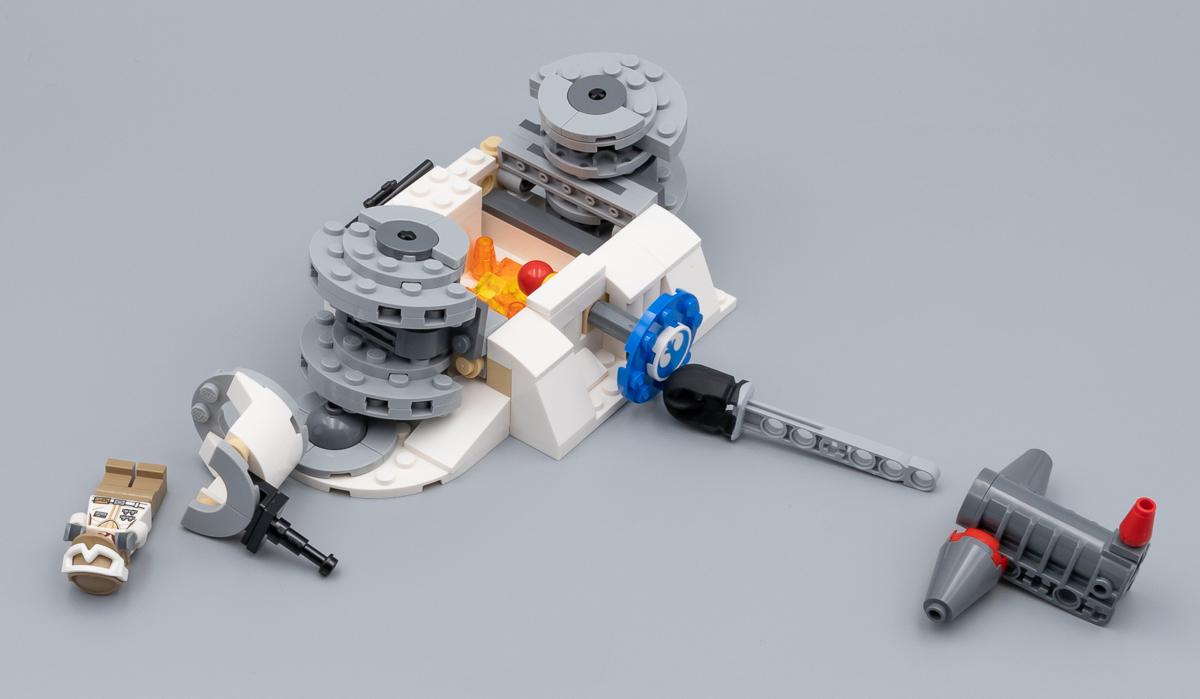 ▷ Très vite testé : LEGO Star Wars 75239 Action Battle Hoth