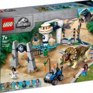 75937 lego jurassic world triceratops rampage 1 1