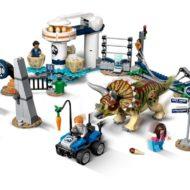 75937 lego jurassic world triceratops rampage 2 1