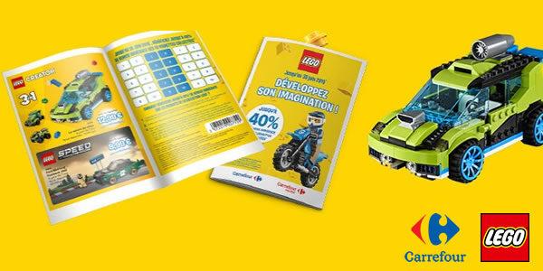 Chez Carrefour : jusqu'à -40% sur une sélection de produits LEGO