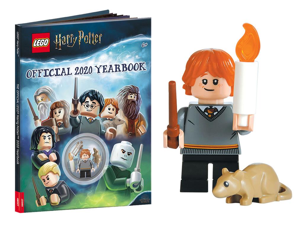 Lego Harry Potter-Ron Weasley avec Croûtard de 75954 Hogwarts Great Hall