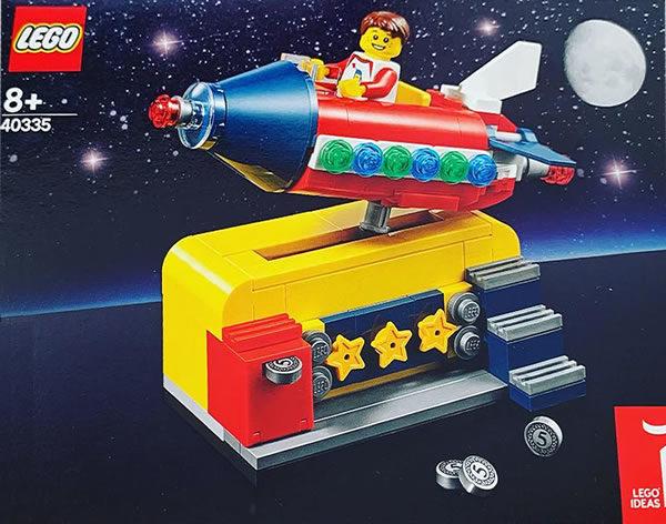 LEGO Ideas 40335 Cosmic Rocket Ride