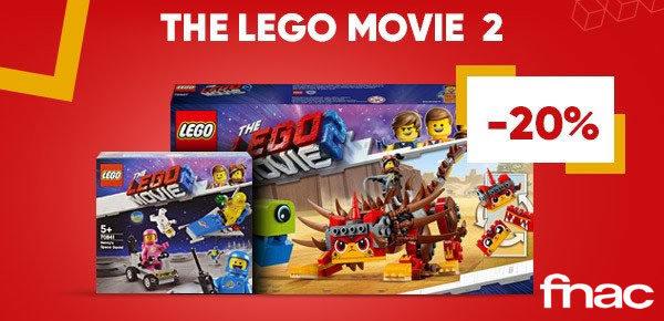 Sur FNAC.com : 20% de réduction sur les sets The LEGO Movie 2