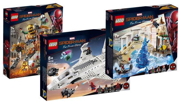 Sur le Shop LEGO : les nouveautés Spider-Man Far From Home sont disponibles