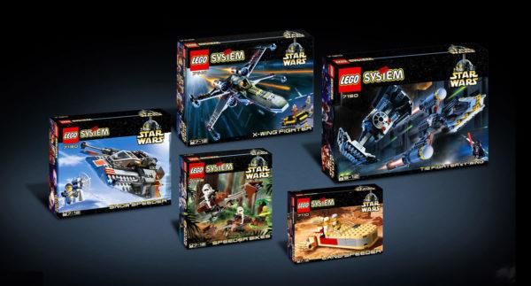 LEGO Star Wars 1999 lineup