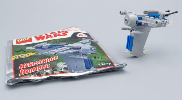 LEGO Star Wars Magazine N°6 (Avril 2019) - Resistance Bomber
