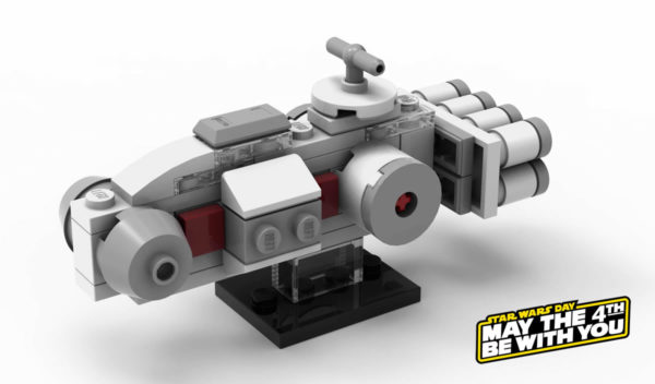 lego starwars may4th tantive micro animation stores