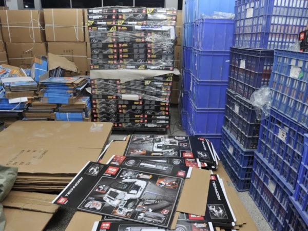 Contrefaçon de produits LEGO : La police chinoise fait une descente chez LEPIN