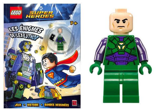 En kiosque : nouveau livre d'activités LEGO DC Comics avec Lex Luthor