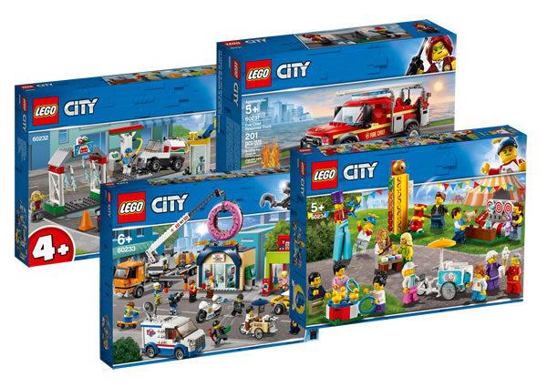 Nouveautés LEGO CITY 2019 : encore des visuels officiels