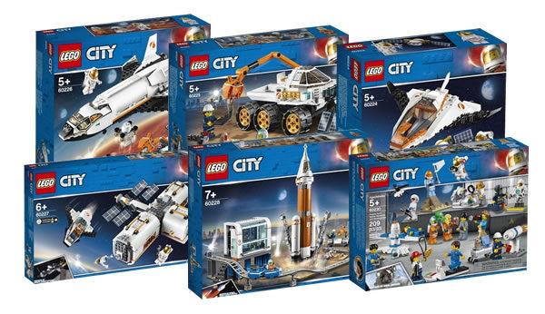 Nouveautés LEGO CITY du second semestre 2019 : premiers visuels