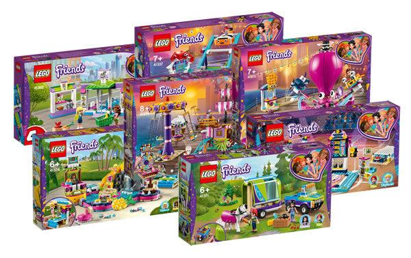 Nouveautés LEGO Friends du second semestre 2019 : les visuels officiels