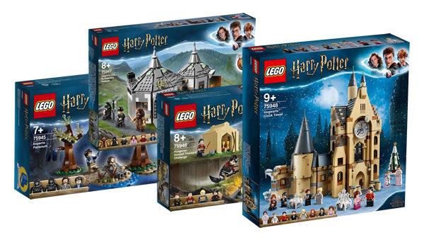 Nouveautés LEGO Harry Potter 2019 : premiers visuels officiels