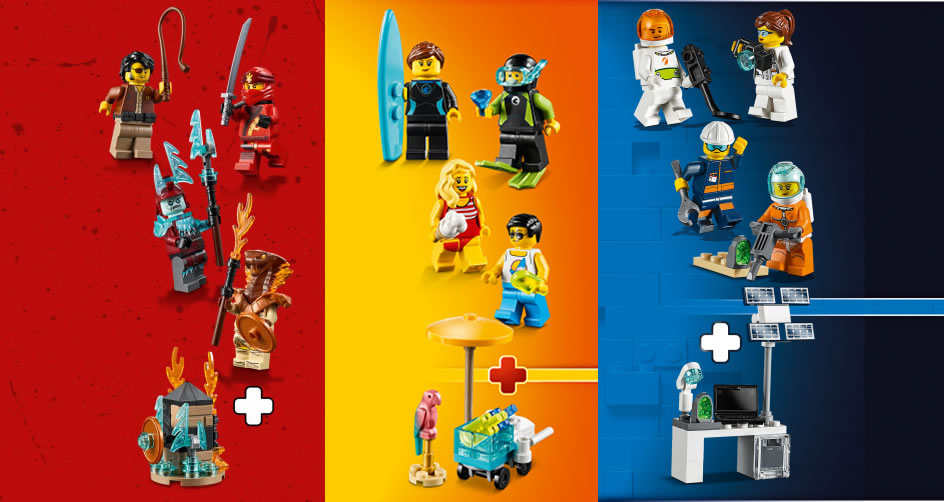 Standard Cape Body Metallic Gold 4x CUSTOM Capes For LEGO Minifig