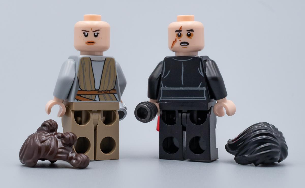 Lego Star Wars Han Solo Figur Figuren Minifigs Rebellen weiss braun Neu